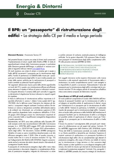 """Il BPR: un """"passaporto"""" di ristrutturazione degli edifici - La"""