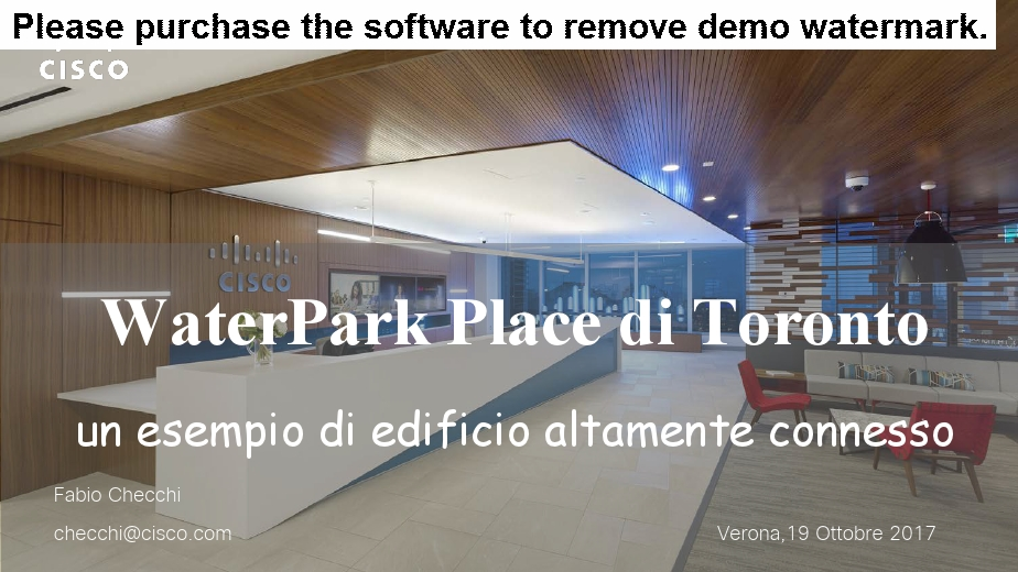 Smart Building: The WaterPark Place di Toronto un esempio di edificio altamente connesso