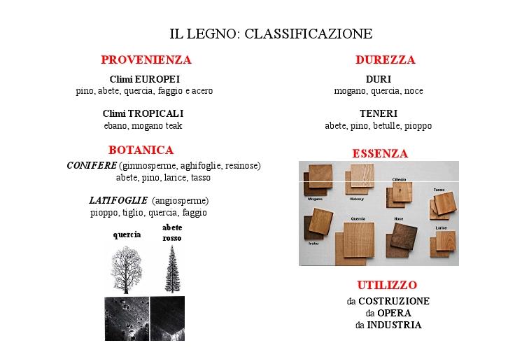Legno caratteristiche propriet impiego for Case in legno difetti