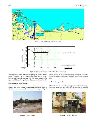 Determination of the critical time of canal storage capacity controlled by cross pump stations
