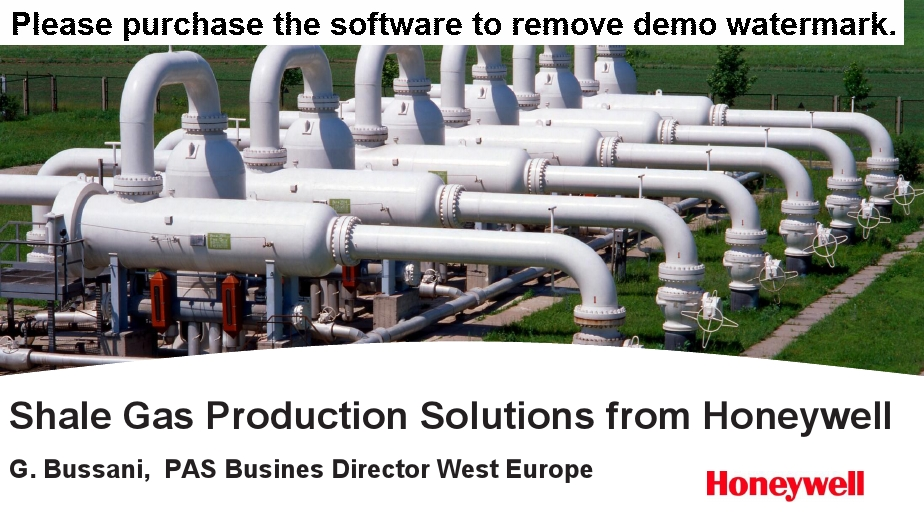 Shale Gas Production Solutions from Honeywell