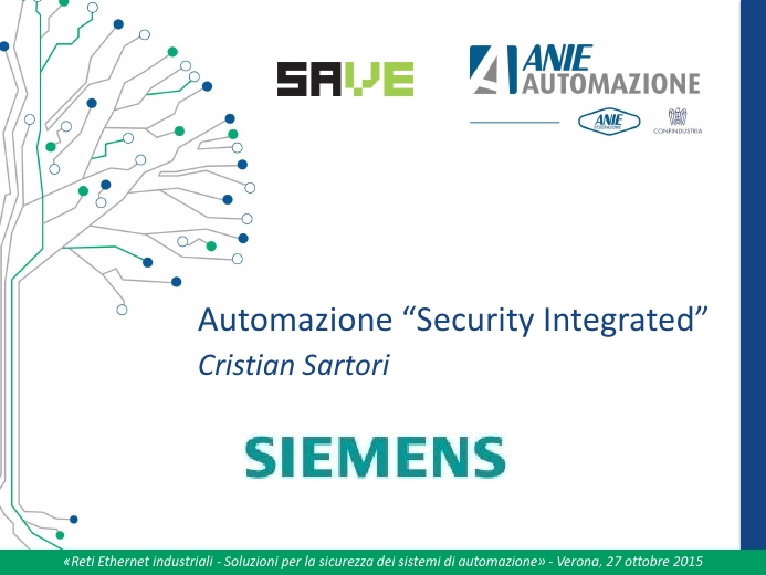"Automazione ""Security Integrated"""