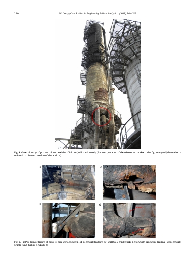 Analysis of a corrosion under insulation failure in a carbon steel refinery hydrocarbon line