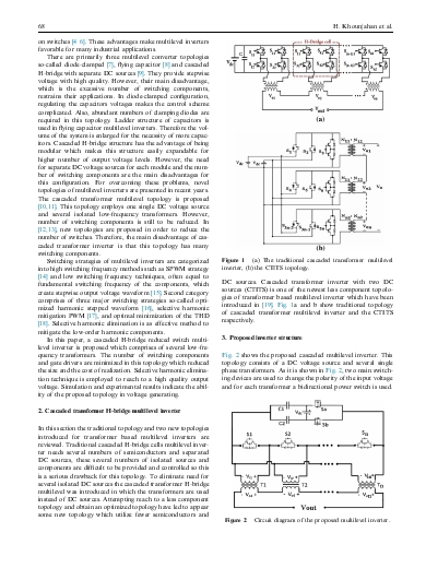 A new low cost cascaded transformer multilevel inverter topology using minimum number of components