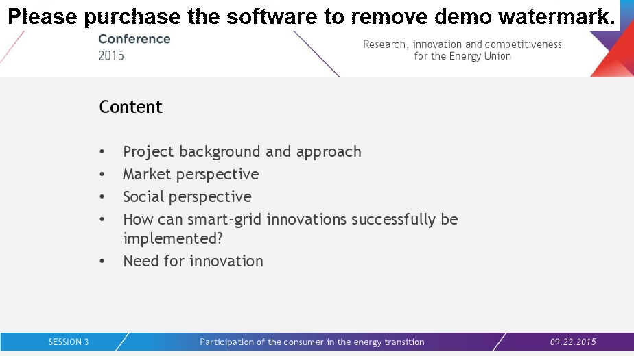 Smart grids, storage and demand response
