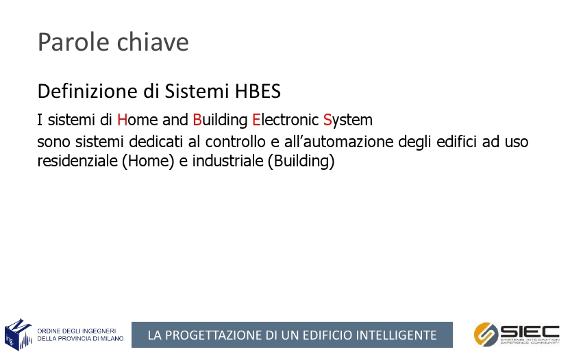 Le normative negli impianti di home & building automation