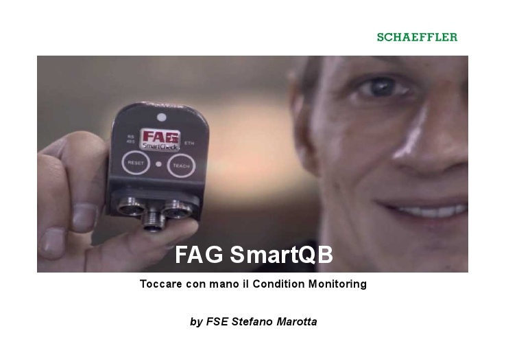 SmartQB: toccare con mano il Condition Monitoring