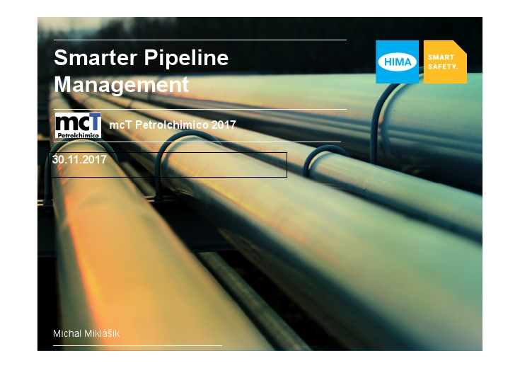 Smarter Pipeline Management