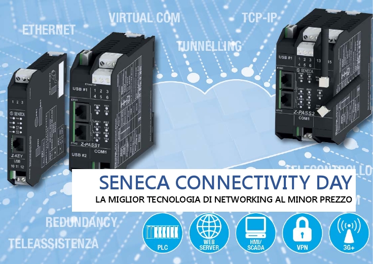 SENECA CONNECTIVITY DAY, la miglior tecnologia di networking al minor prezzo