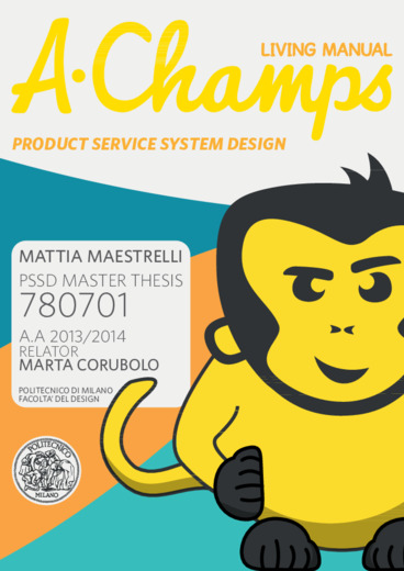 A-Champs living manual. Product service system design