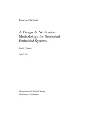 A design and verification methodology for networked embedded systems