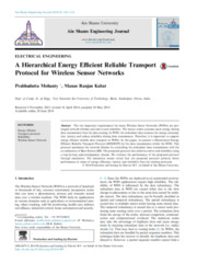 A hierarchical energy efficient reliable transport protocol for wireless sensor