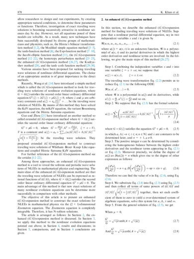 A note on enhanced (G0/G)-expansion method in nonlinear physics