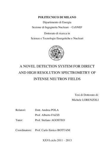 A novel detection system for direct and high resolution spectrometry