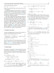 A novel matrix approach to fractional finite difference for solving