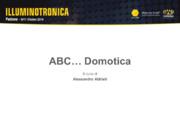 ABC… Domotica