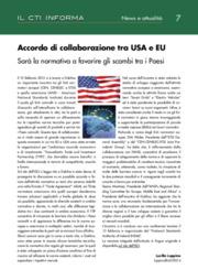 Accordo di collaborazione tra USA e EU: sarà la normativa