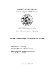 Accuracy driven hybrid localization method