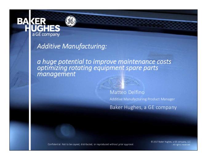 Additive Manufacturing:  un enorme potenziale per migliorare i costi