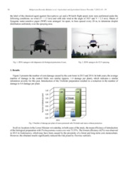 Aerial method of plant protection with the use of an