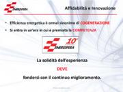 Affidabilità e innovazione in chiave cogenerativa