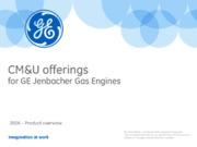 Aggiornamenti 2016 dei motori a gas GE Jenbacher. Incrementi delle