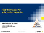 """""""Agile Project Execution"""": ICSS per la flessibilità nella esecuzione dei"""