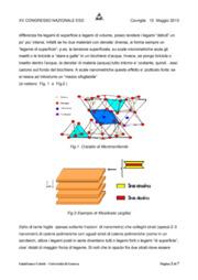 Alcune tendenze delle nanotecnologie, per evidenziare particolari effetti elettrostatici