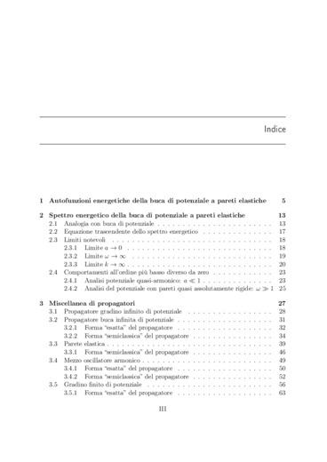 Alcuni aspetti della quantizzazione dell