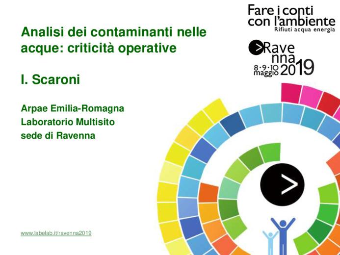Analisi dei contaminanti nelle acque: criticità operative