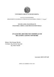 Analisi del rischio nei terminali di rigassificazione offshore