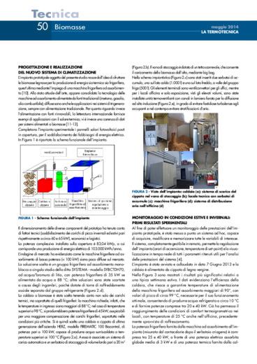 Analisi energetica e ambientale di un sistema di climatizzazione a