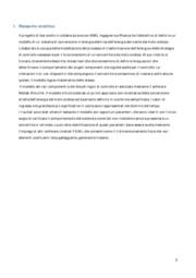 Analisi modellazione e ottimizzazione del funzionamento di un sistema di