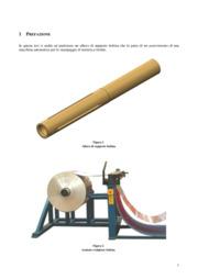 Analisi numerica di un albero di supporto bobina per macchina