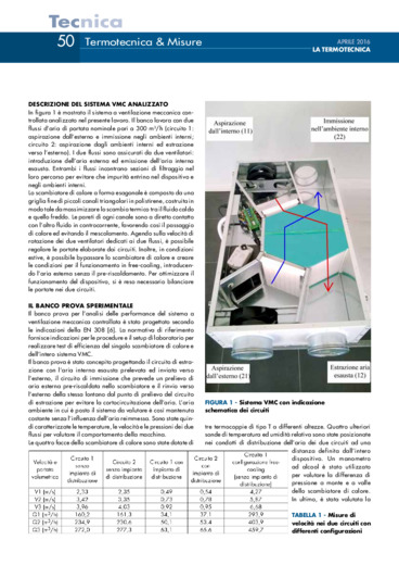 Analisi sperimentale delle prestazioni di uno scambiatore di calore per