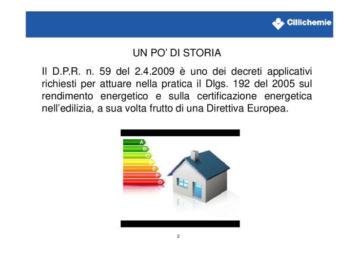 Analisi su D.P.R. n. 59 del 2.4.2009