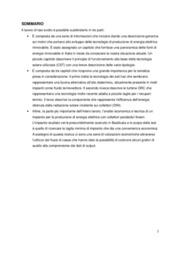Analisi tecnico economica di un impianto termodinamico di produzione di