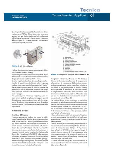 Analisi termofluidodinamica e validazione sperimentale di un impianto di surgelazione