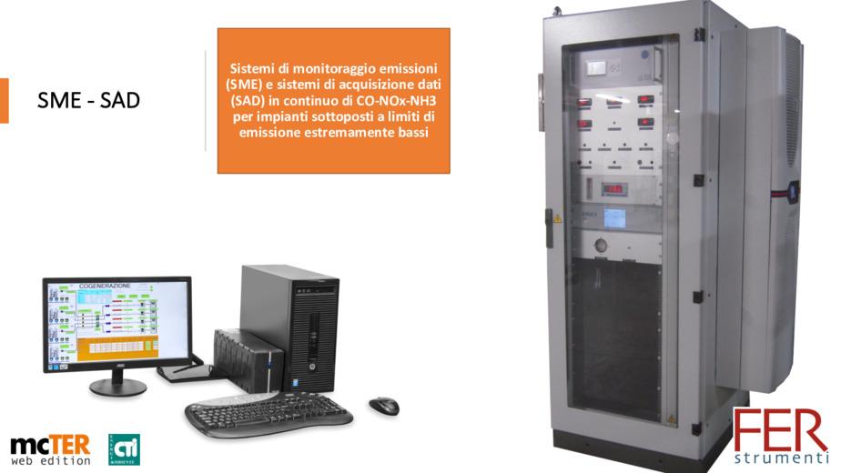 Analizzatori per gas di combustione per monitoraggio emissioni e controllo
