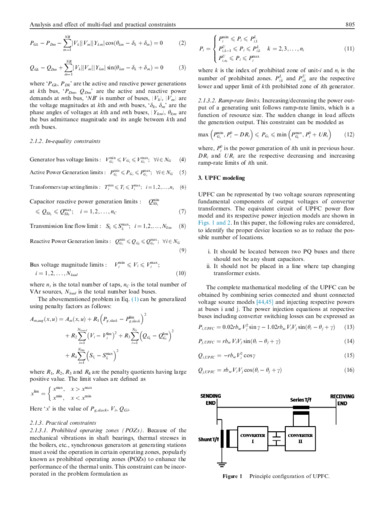 Analysis and effect of multi-fuel and practical constraints on economic
