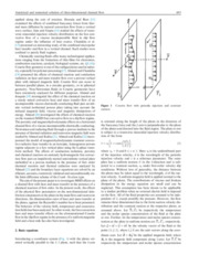Analytical and numerical solution of three-dimensional channel flow in presence