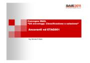 Ancoranti ed ETAG001