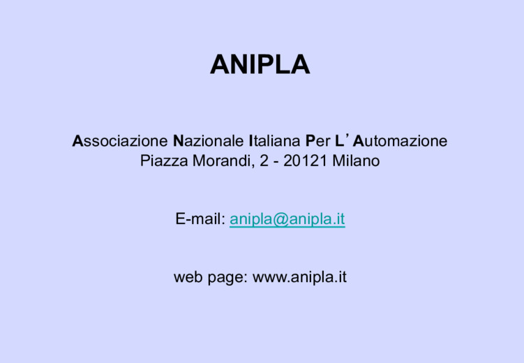 Anipla e Industria 4.0.