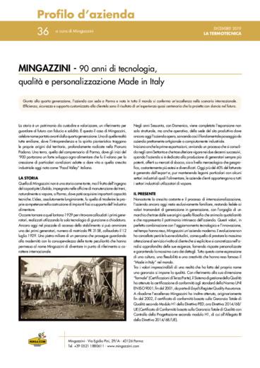 90 anni di tecnologia, qualità e personalizzazione Made in Italy