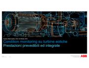 """Applicazioni avanzate di """"Condition Monitoring"""" nel settore eolico"""
