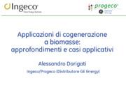 Applicazioni di cogenerazione a biomasse: approfondimenti e casi applicativi