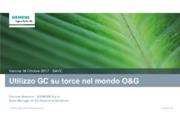 Applicazioni GC per torce nel mondo O&G