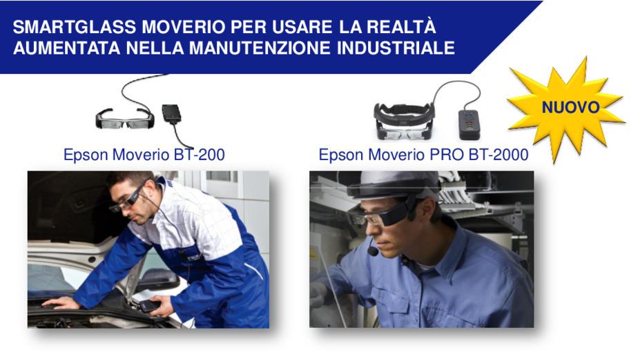 Applicazioni innovative degli Smartglass nella manutenzione e montaggio di impianti