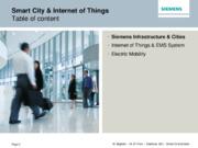 Applicazioni IT per le Smart City