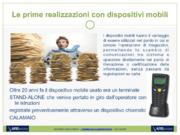 Applicazioni Smart con dispositivi mobili nella gestione di magazzini automatizzati